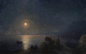 Classical Poets on a Moonlit Shore in Ancient Greece 94-146